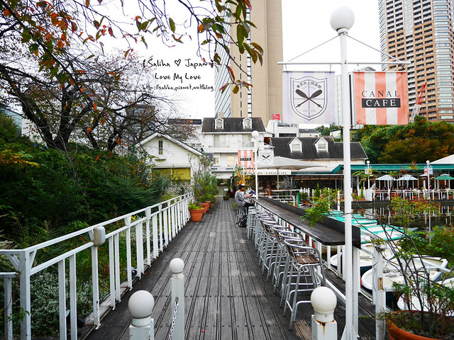 日本東京自由行賞櫻canal cafe水上餐廳 (5)
