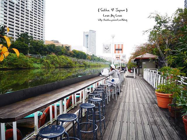 日本東京自由行賞櫻canal cafe水上餐廳 (3)