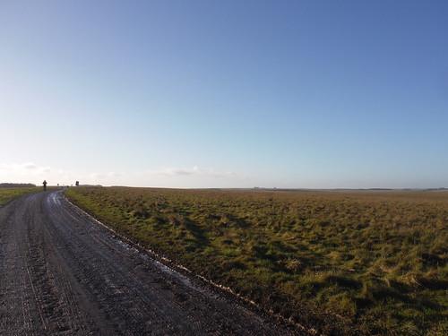 Long Views along American Road on Salisbury Plain