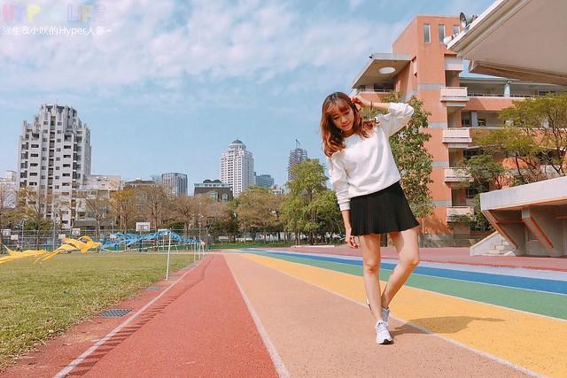 台中惠文國小彩虹跑道 (15)