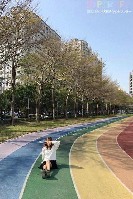 台中惠文國小彩虹跑道 (8)
