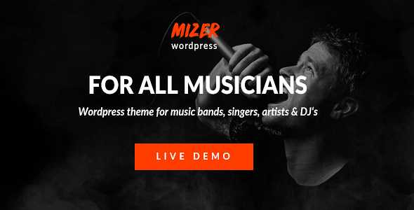 Mizer WordPress Theme free download