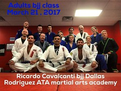 Great training with Rodriguez ATA martial arts students , thank you all for the attention and hospitality, I love Dallas #sonsofcavalcantidallas #iamcavalcanti #ricardocavalcantijiujitsudallas #ricardocavalcantibjjinternationalassociation