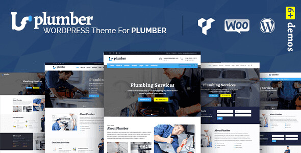Plumber Pro WordPress Theme free download
