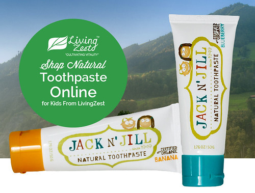 Shop Natural Toothpaste Online for Kids From LivingZest