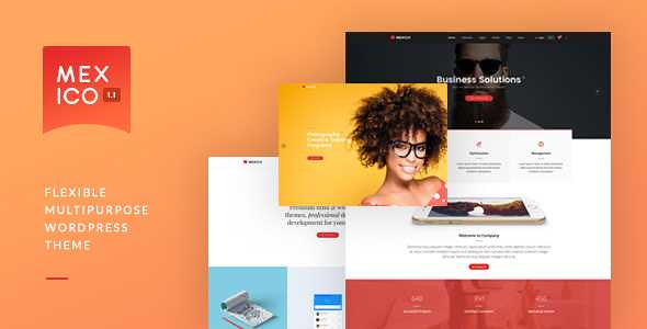 Mexico WordPress Theme free download