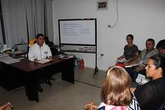Funcionarios municipales coordinan actividades sociales