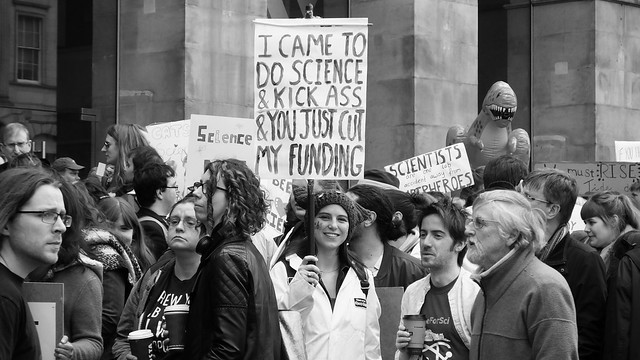 March for Science Edinburgh 02