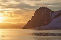Adelaide Island sunset