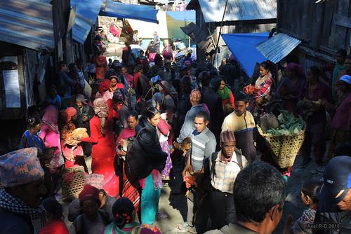 bihibare marché necha nepal préci personnes solukhumbu village