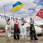 Открытие рейса Харьков-Стамбул Turkish Airlines 30.03.2017