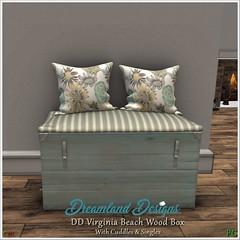 DD Virginia Beach Wood Box Vendor
