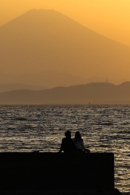 Enoshima & Fuji