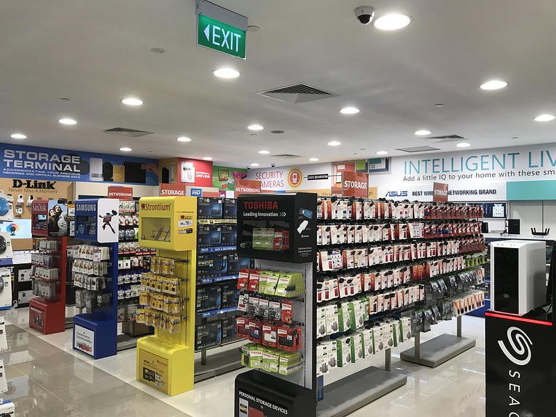 Challenger Flagship Store (Bugis Junction) - Storage Terminal/Intelligent Living