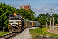 NS 9202 | GE C40-9W | NS Memphis Disitrict