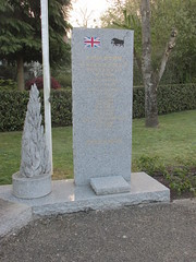 Memorial to the fallen of  the 11 Armoured Division, Putanges-Pont-Écrepin