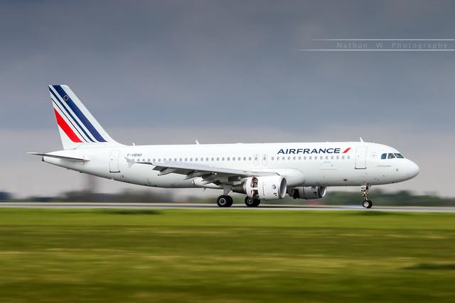 LIL - Airbus A320-214 (F-HBND) Air France