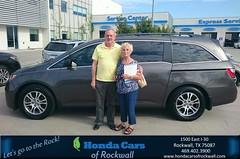 #HappyBirthday to Linda from Art Sanders at Honda Cars of Rockwall!