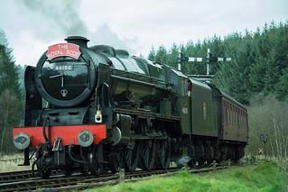 20170330-52_The Royal Scot Engine 46100 leaving Levisham Station