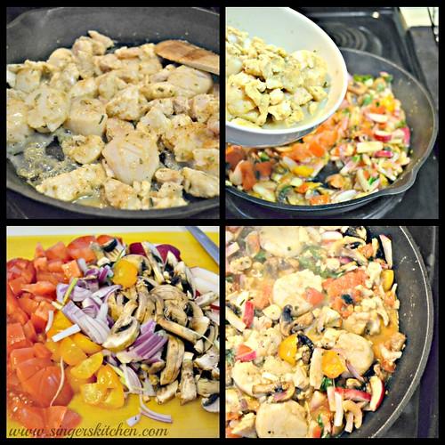 Seafood Dinner Preparation