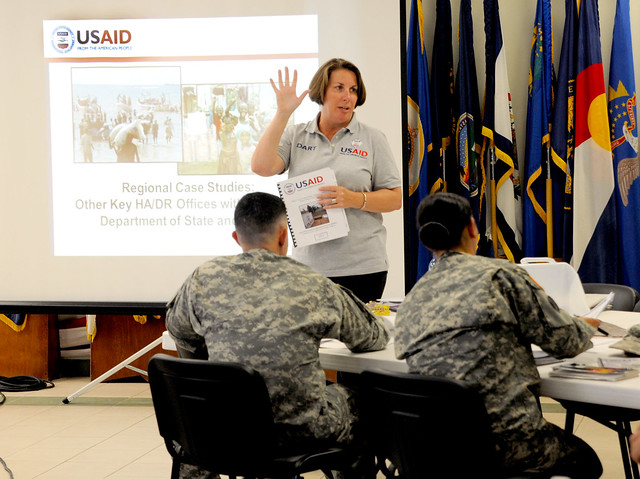 Humanitarian operations course focuses on inter-agency cooperation