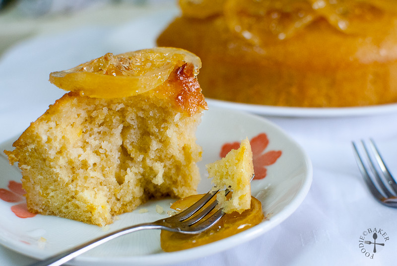 Lemon Glazed Buttermilk Cake
