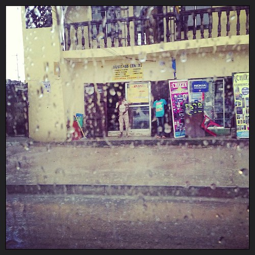 Rainy #PortHarcourt, #Nigeria! just another tropical storm and we're  all drenched