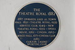 Photo of Theatre Royal, Bournemouth blue plaque