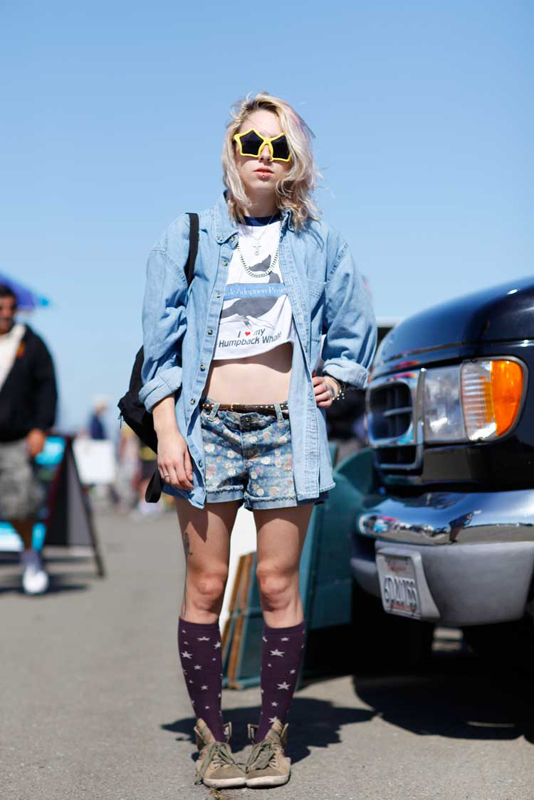 xel_denim_af street style, street fashion, women, Alameda Flea Market, Quick Shots