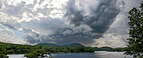 panorama ny newyork june landscape adirondacks explore northville approachingstorm canont2i