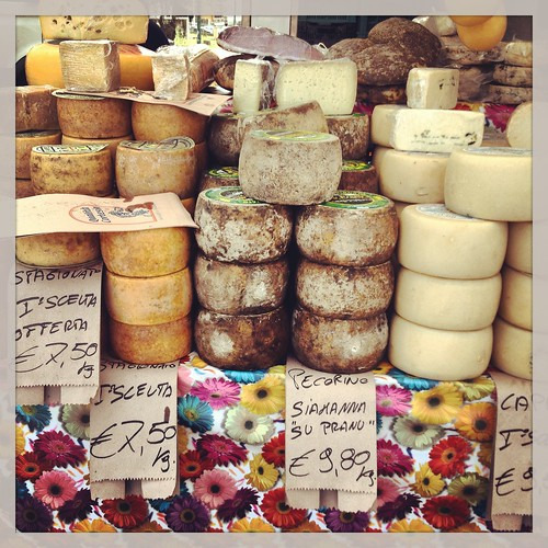 Fresh markets in Alghero, Sardinia. Photo courtesy of Talia Klundt