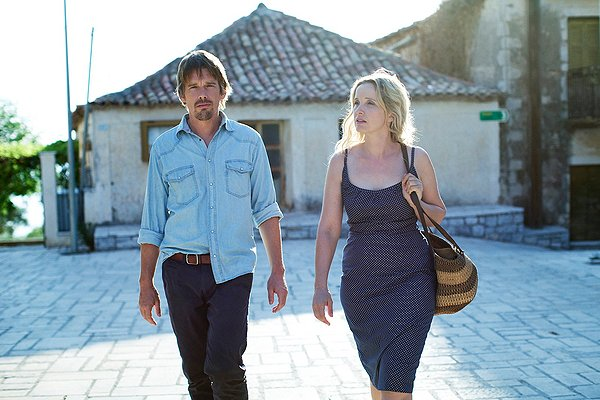Ethan Hawke and Julie Delpy are bittersweet revelations in BEFORE MIDNIGHT.