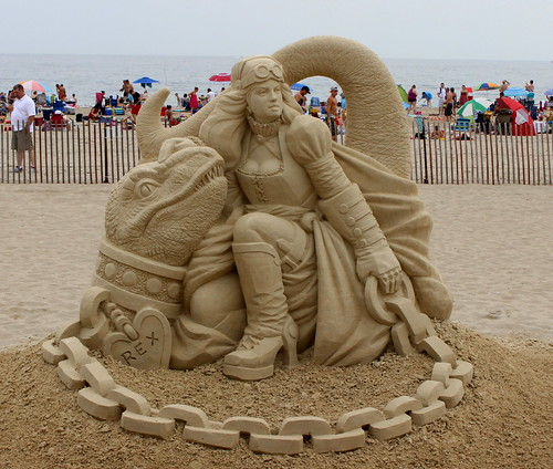 Hampton Beach Sand Sculpture 9 by Christopher OKeefe