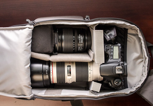 Alternate Packing for the Lowepro Transit Sling 250 AW