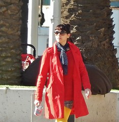 Bright Red Coat