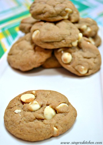 Chewy White Chocolate Mocha Cookies 1