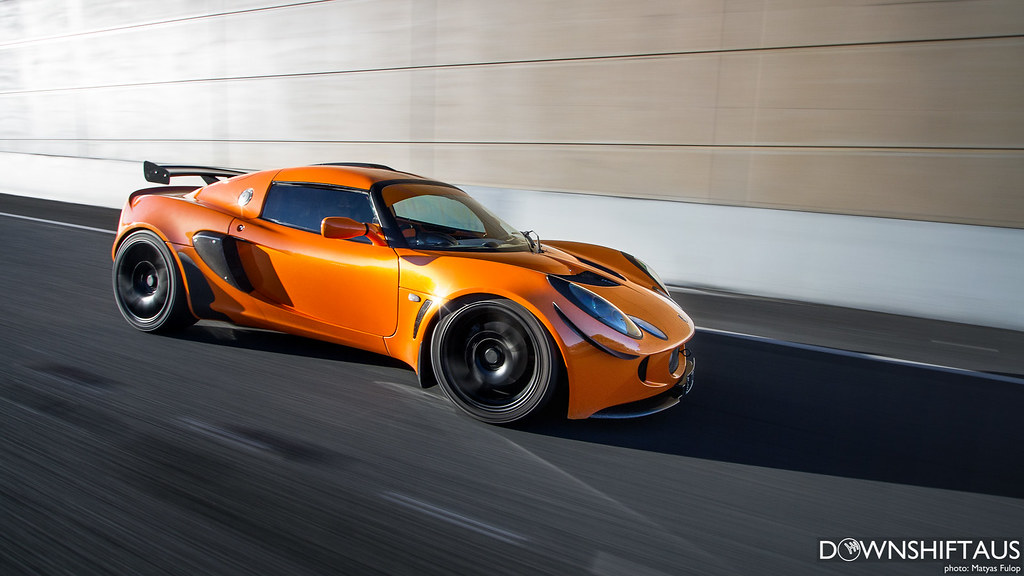 Evan's Supercharged Exige