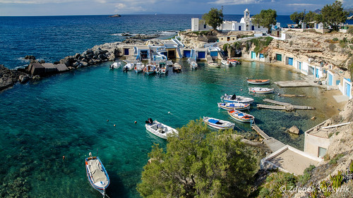 Mandrakia village / Milos island by Zdenek Senkyrik | Flickr