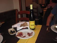Dinner in Lisbon