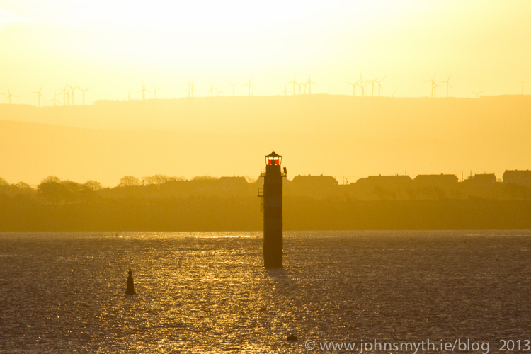 Beacon in Galway Bay