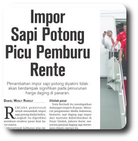 English Idiom Plain Translation in Indonesian News 1st Page