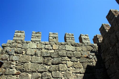 castle portugal wall august castelo muralha castelobranco 2011