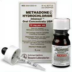 Intensol methadone oral concentrate 10mg/ml Roxane