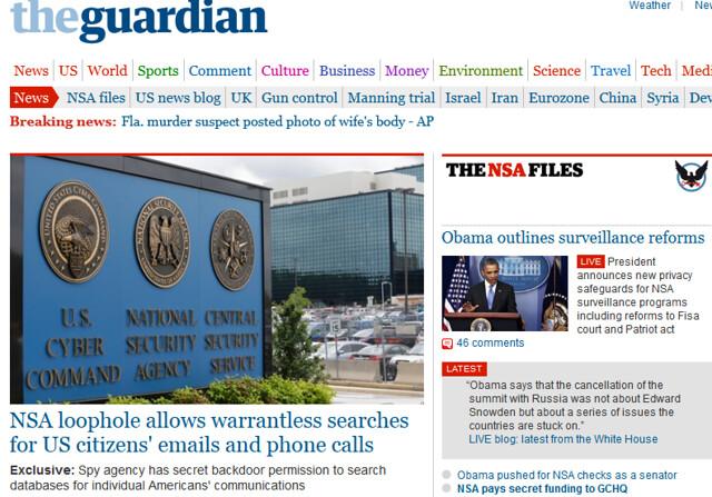 NSAwebsite