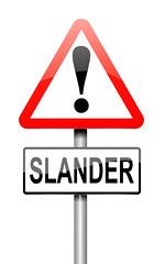 Caution! Online Slander