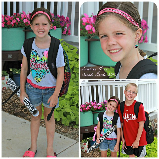 First Day of School_CJ Collage