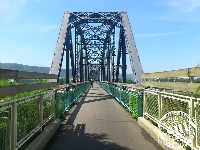 后豐鐵馬道-花樑鋼橋
