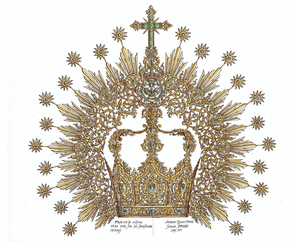 Corona Dulce Nombre Cáceres