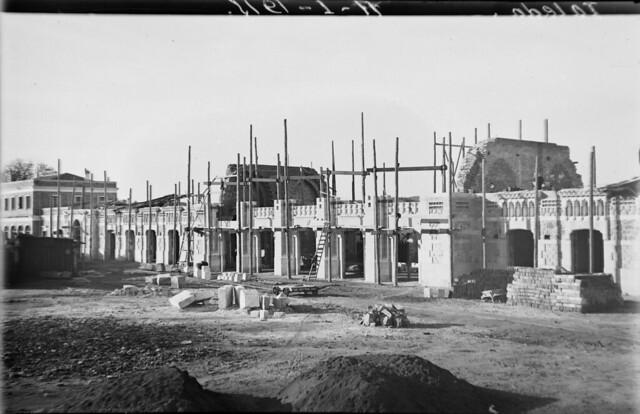 Estación de ferrocarril de Toledo el 11 de enero de 1915  © Archivo Histórico Ferroviario del Museo del Ferrocarril de Madrid. Fotografía de F. Salgado. Signatura 0476-IF MZA 0-9