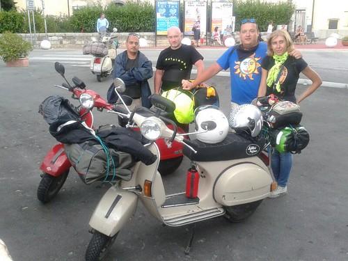 #rotolandoversosud2013 penultimo giorno direzione #Certaldo by manuelongo
